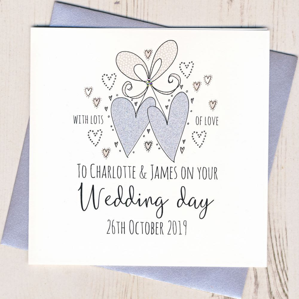 <!-- 002 -->Personalised Wedding Cards
