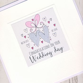 Large Wedding Card