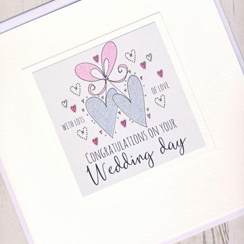 <!-- 001 -->Large Personalised Wedding Card