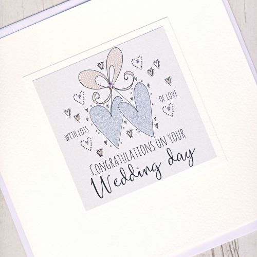 <!-- 001 -->Large Personalised Wedding Card