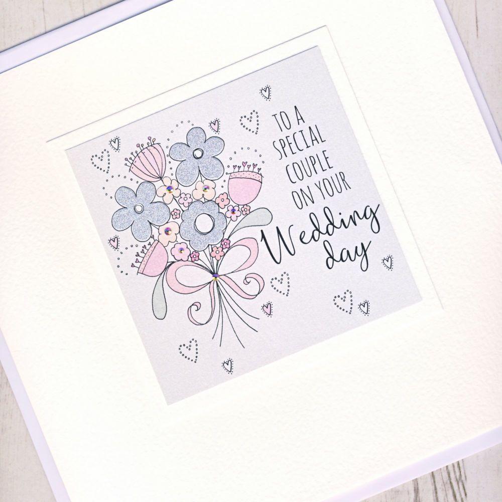 <!-- 001 -->Large Wedding Flowers Card