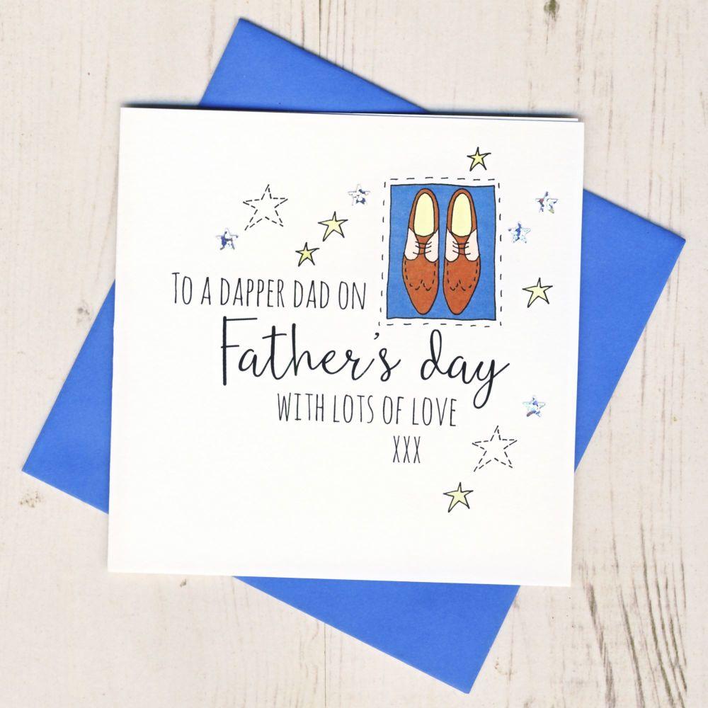<!-- 002 -->Dapper Dad Father's Day Card