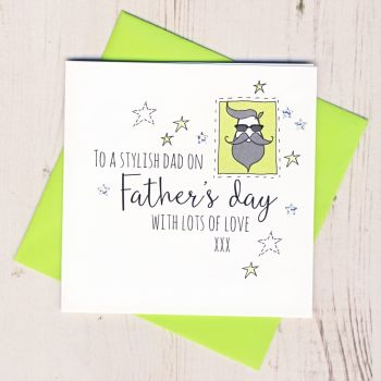 Stylish Dad Father's Day Card