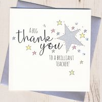 <!-- 003 -->Star Teacher Thank You Card