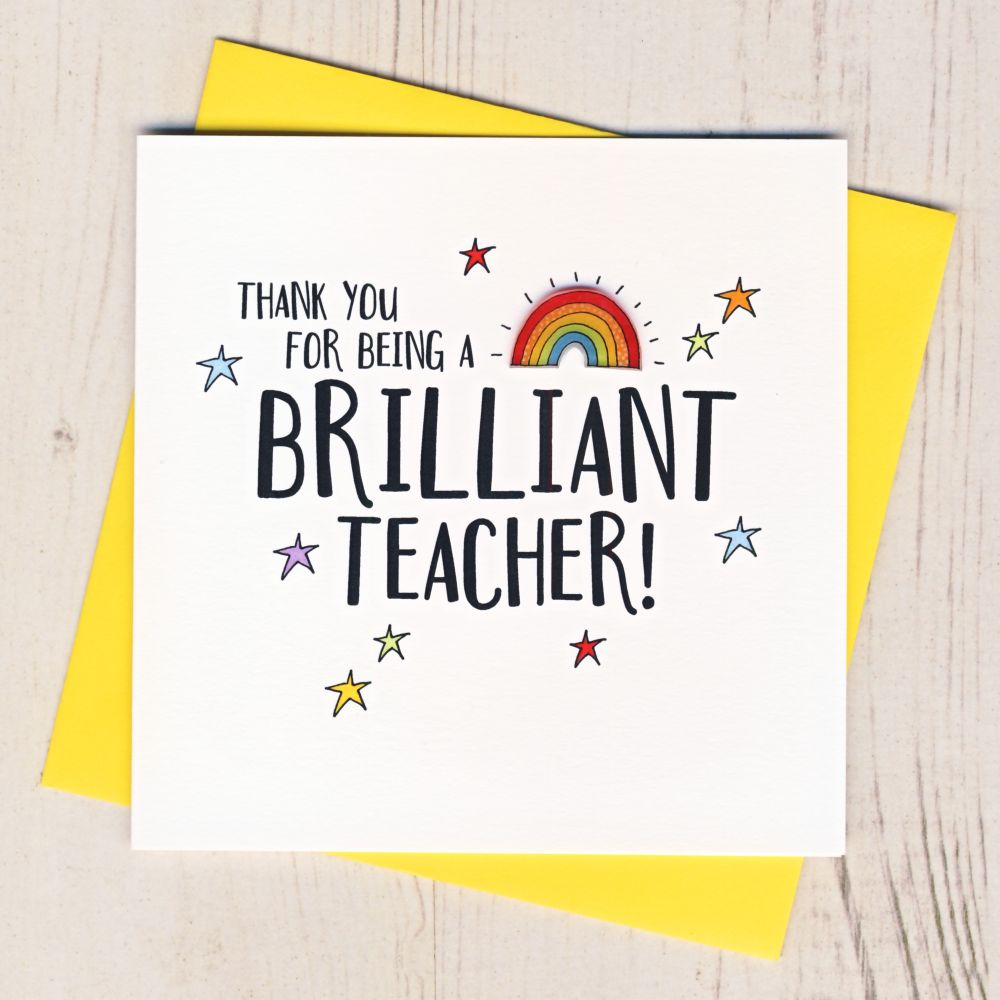 <!-- 003 -->Teacher Thank You Cards & Gifts
