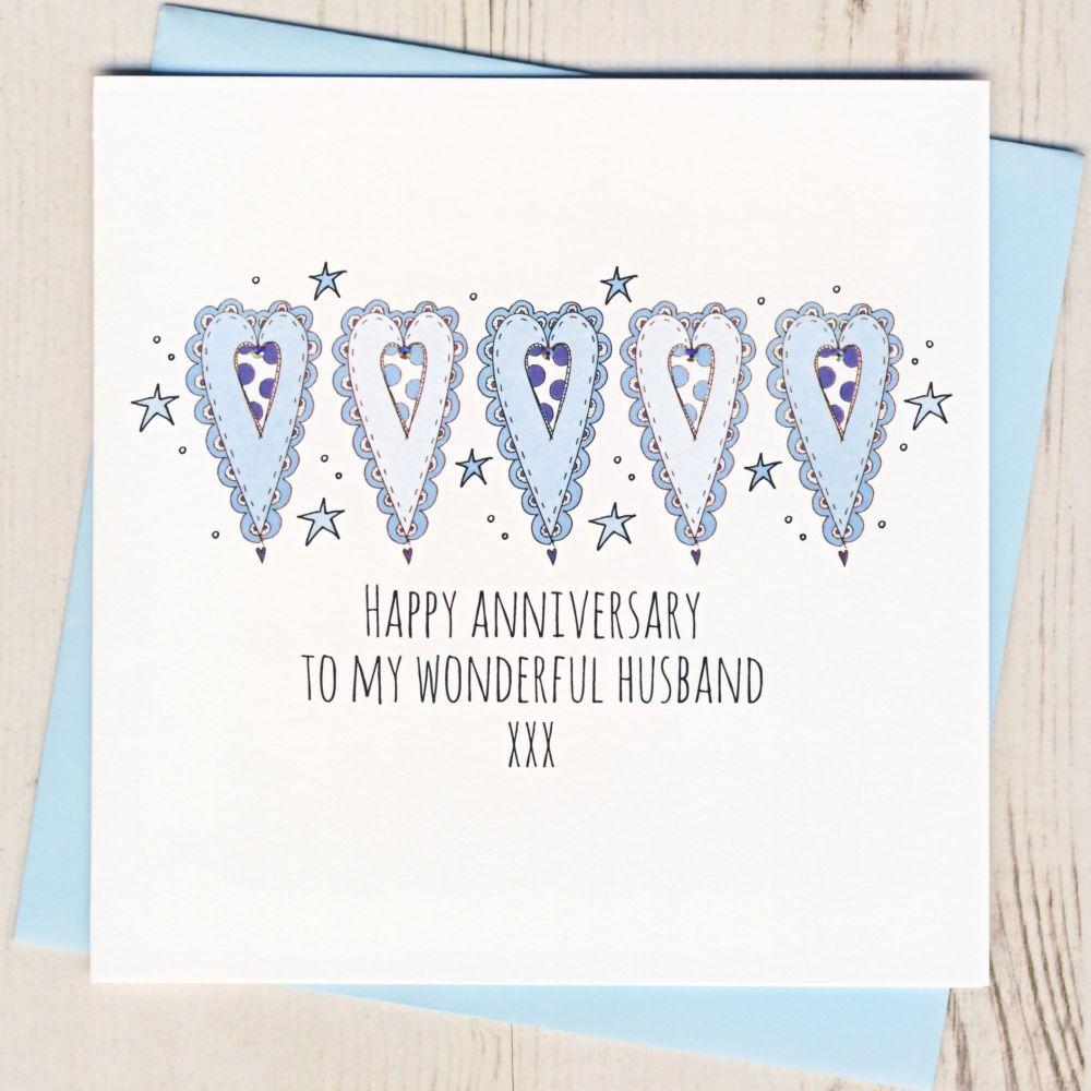 <!-- 006 -->Happy Anniversary To My Husband