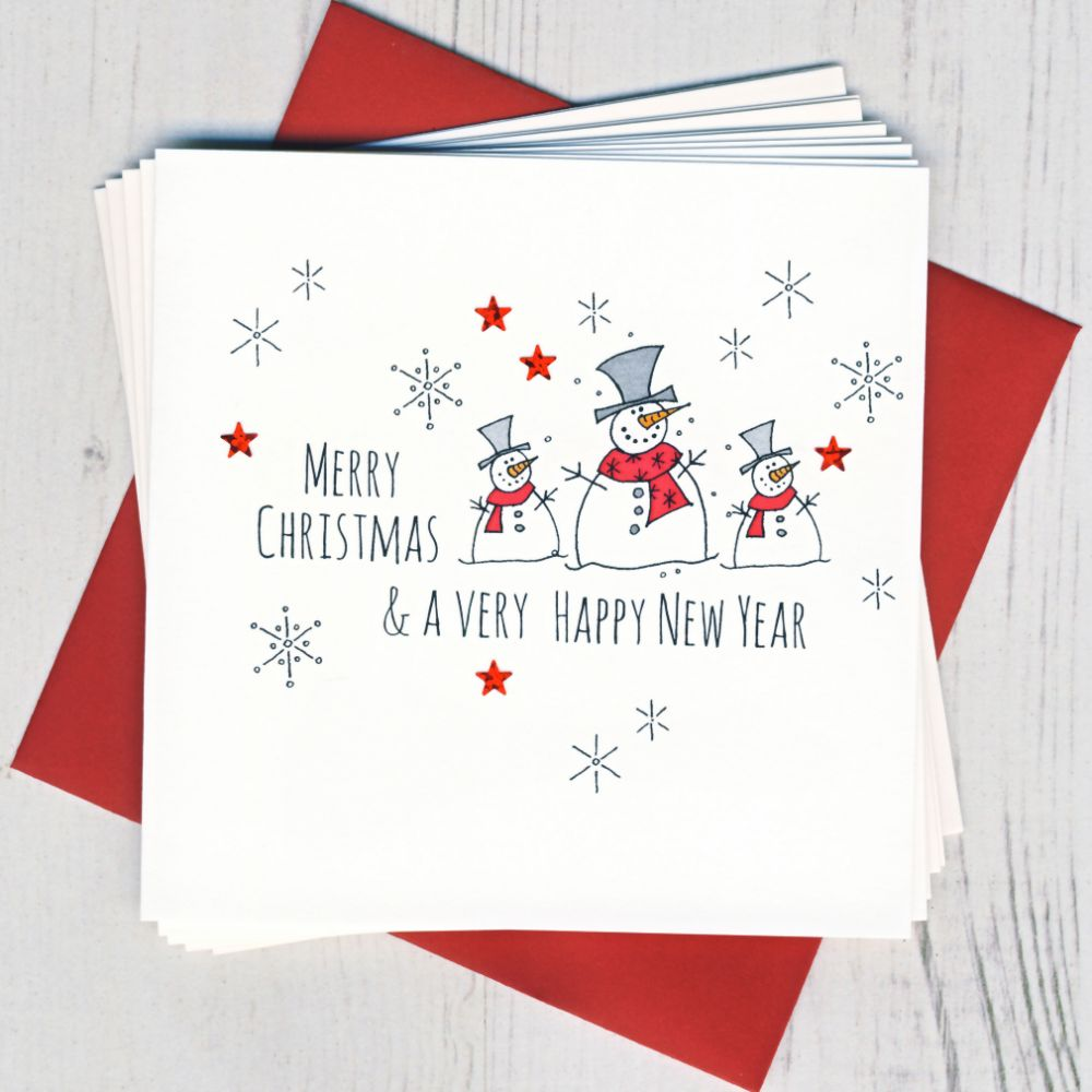 <!-- 002 -->Pack of Five Christmas Cards