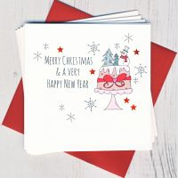 <!-- 010 -->Pack of Five Christmas Cake Cards