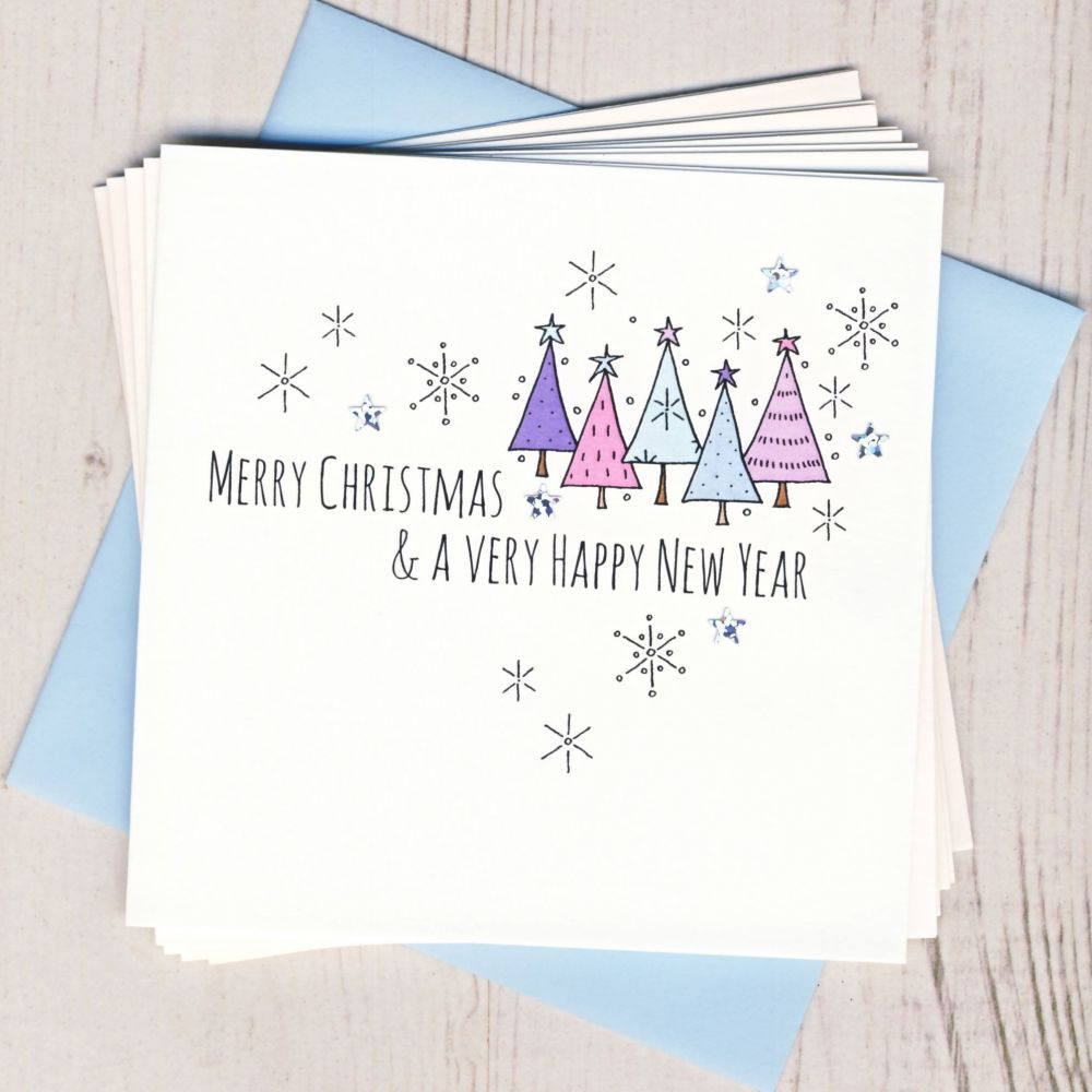 Pack of Five Gingerbread Cards