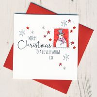 <!-- 001-->To A Lovely Mum Christmas Card