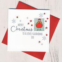 <!-- 001-->To A Lovely Grandma Christmas Card