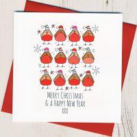 Merry Christmas Robins