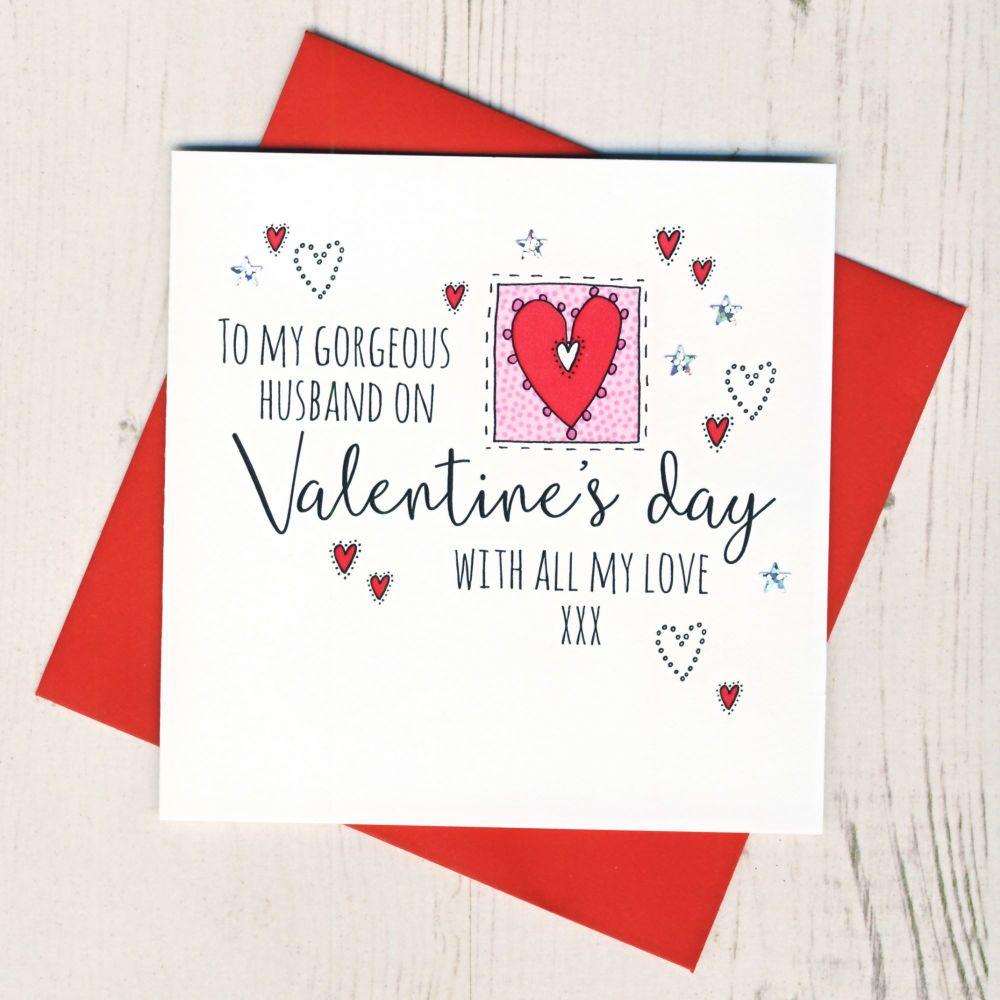 <!-- 001 -->Husband Valentines Card