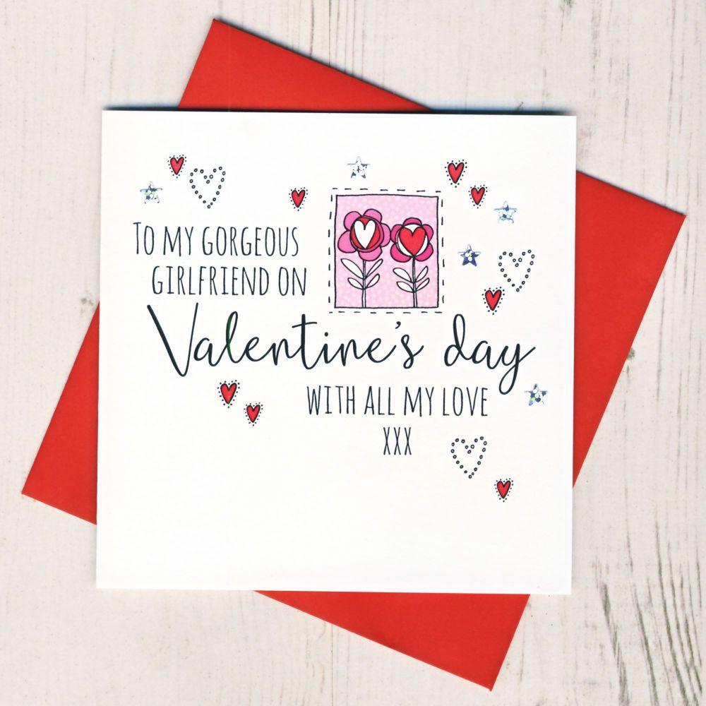 <!-- 011 -->Girlfriend Valentines Card