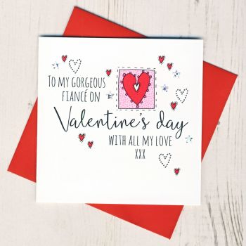 Fiance Valentines Card