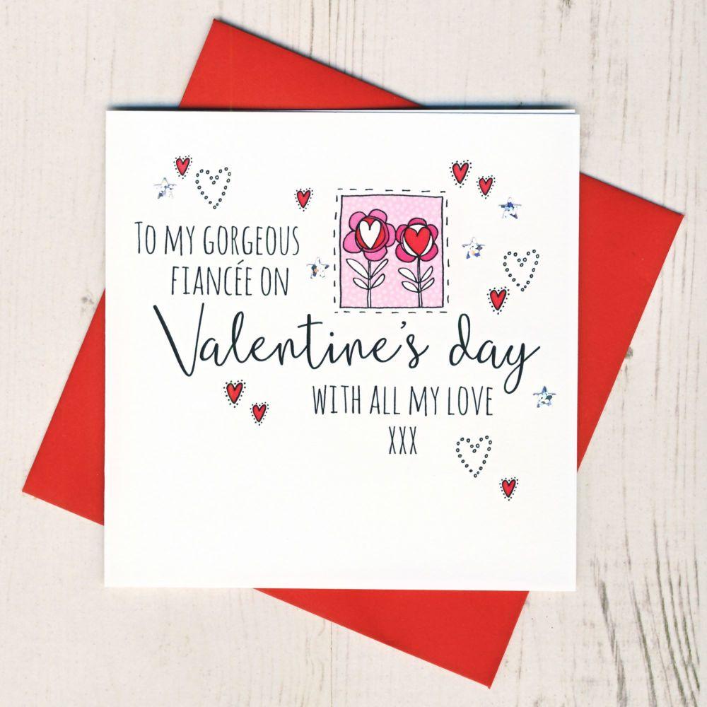 <!-- 014 -->Fiancee Valentines Card