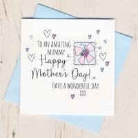 <!-- 002 --> Mother's Day Butterfly Card