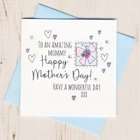 <!-- 001 --> Mother's Day Butterfly Card