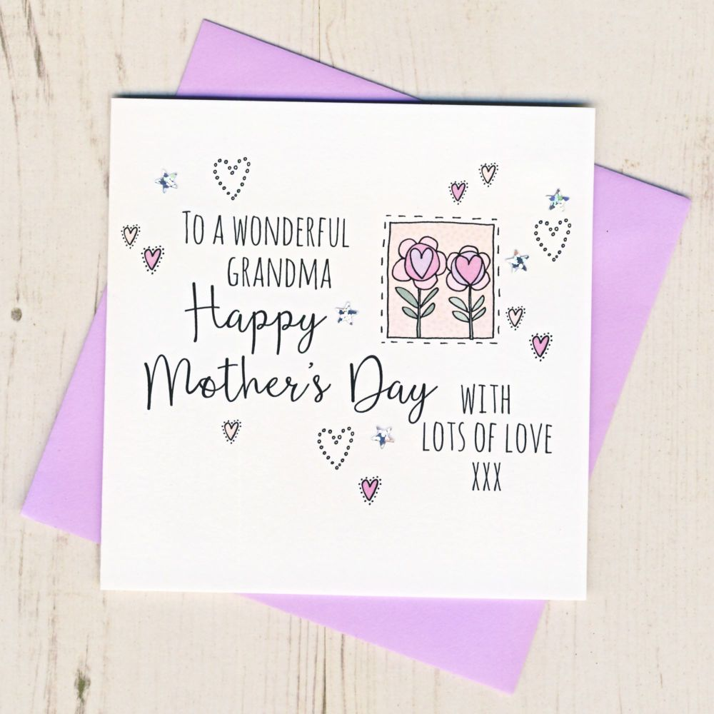 <!-- 001 --> Mother's Day Card For Grandma