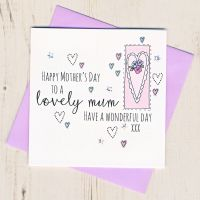 <!-- 002 -->Mother's Day Heart Card