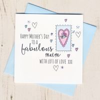 <!-- 001 -->Mother's Day Heart Card