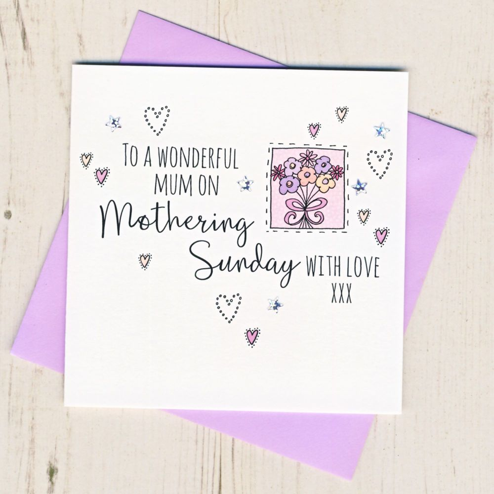 <!-- 001 -->Mothering Sunday Card