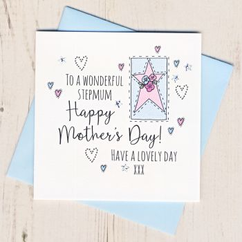 Stepmum Mother's Day Card