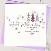 <!-- 002-->Personalised Mother's Day Foxglove Card