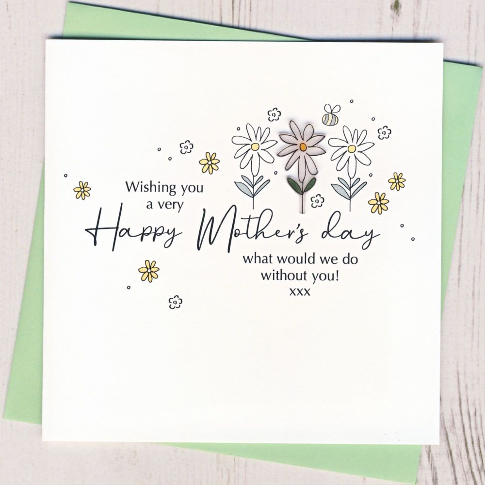 <!-- 001-->Daisy Mother's Day Card