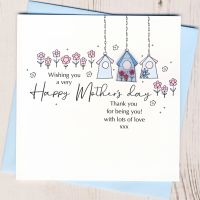 <!-- 002-->Mother's Day Birdhouse Card