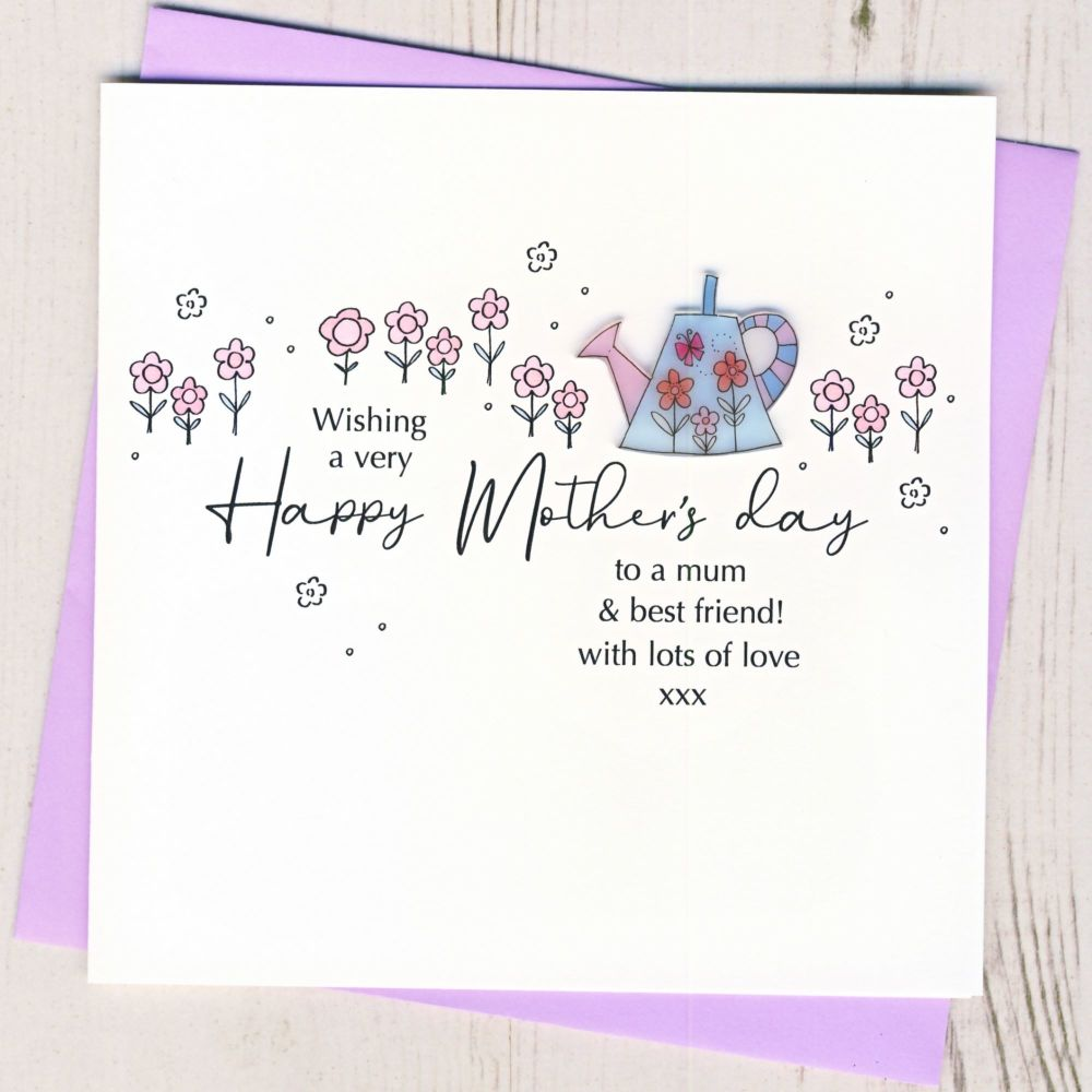 <!-- 001-->Mother's Day Watering Can Card
