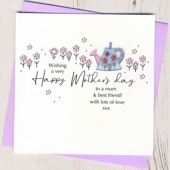 Mother's Day Watering Can Card