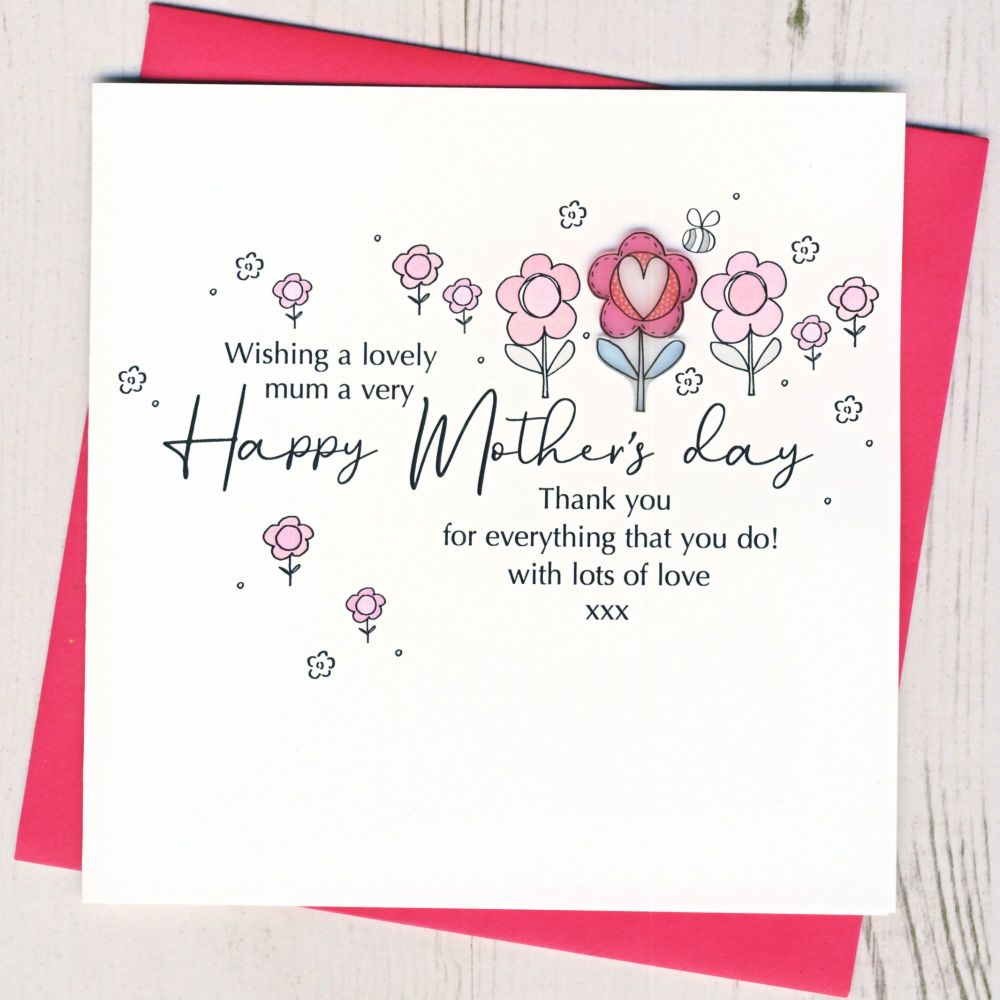 <!-- 001-->Mother's Day Thank You Card