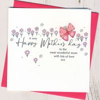 <!-- 001--> Mother's Day Butterfly Card