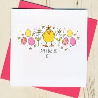 <!-- 002 -->Easter Chick Card