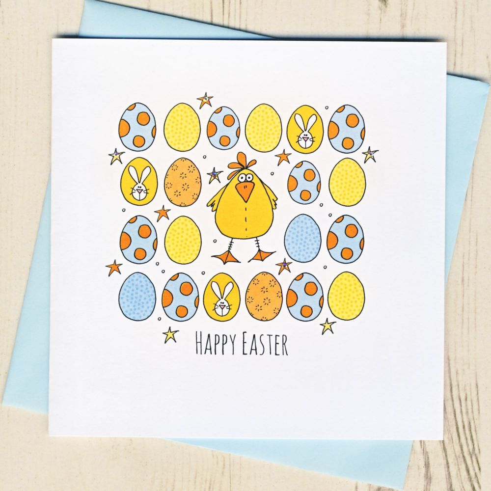 <!-- 003 -->Easter Chick Card
