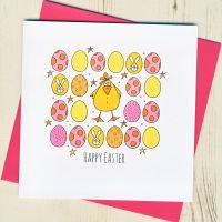 <!-- 004 -->Easter Chick Card
