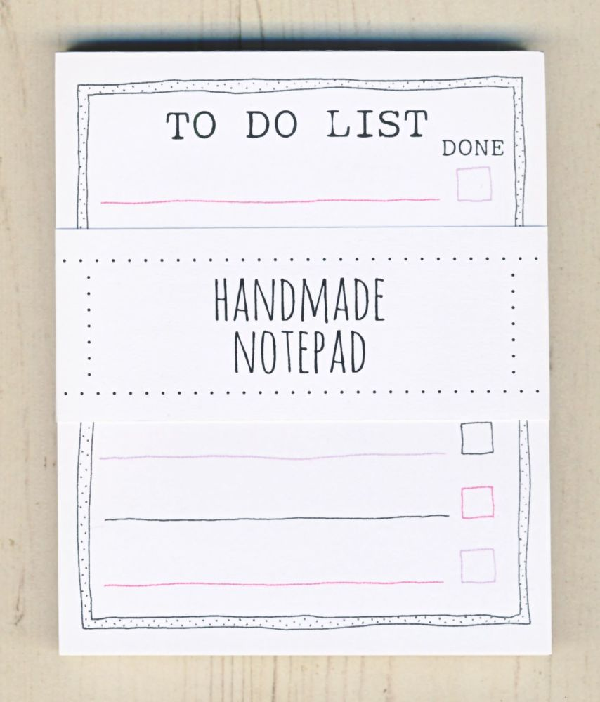 <!-- 012 -->To Do List Notepad