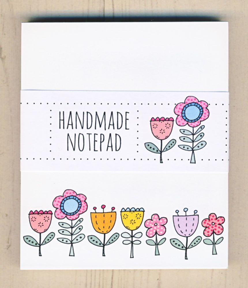 <!-- 001 -->Flowery Notepad