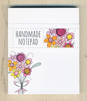 Bunch of Flowers Notepad