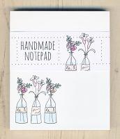 <!-- 004 -->Flower Vases Notepad