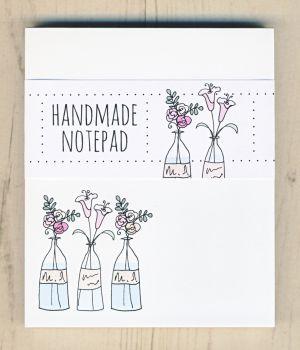 Flower Vases Notepad