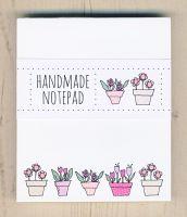 <!-- 005 -->Flowerpots Notepad