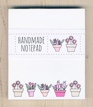 Flowerpots Notepad