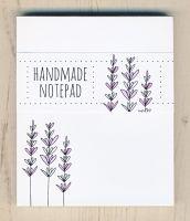 <!-- 006 -->Lavender Notepad