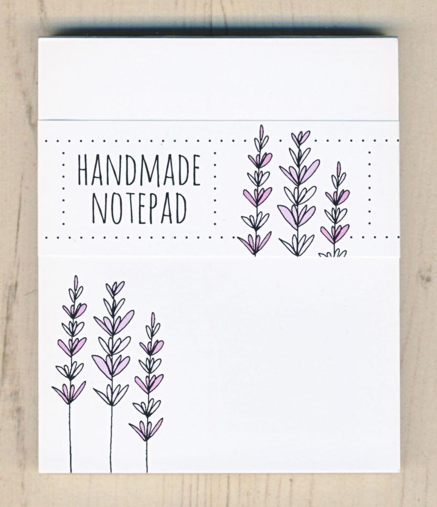 <!-- 005 -->Lavender Notepad