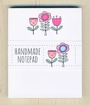 3 Flowers Notepad