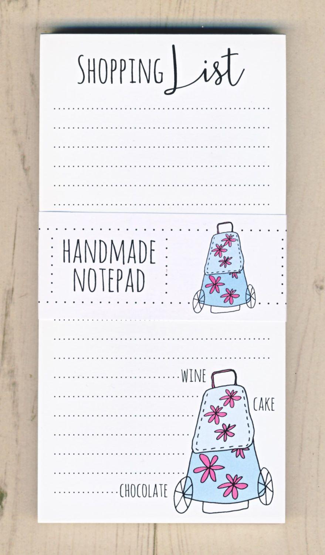 <!-- 001 -->Shopping List Notepad