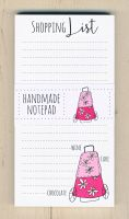 <!-- 002 -->Shopping List Notepad