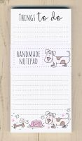 <!-- 010 -->Dog Things To Do Notepad